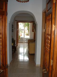 Front door through towards the Patio