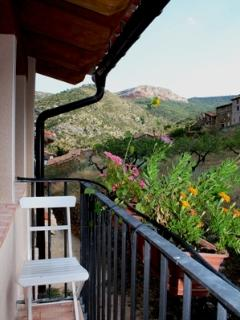Vistas desde el balcón de Valloré