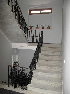Original main staircase