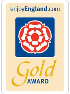 Our 2015/16 Gold award.