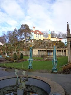 Pretty Portmeirion 10 minute drive away