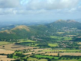 Spectacular views of/from the Malvern Hills