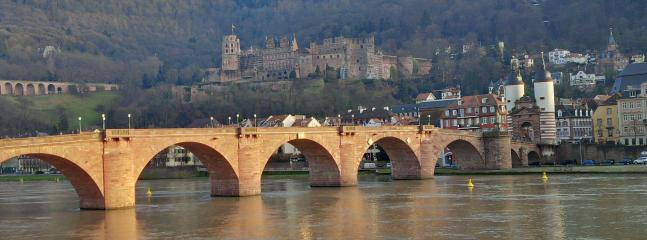 Heidelberg Old bridge and Castle