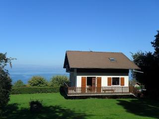 villa proche evian vue magnifique sur le lac Léman