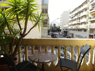 Central Cannes one bedroom with lovely balcony