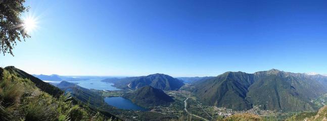 Ornavasso: vista sui laghi