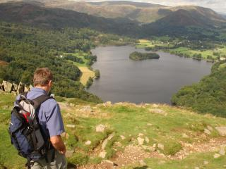 A walk from Bluehill Cottage overlooking Grasmere.