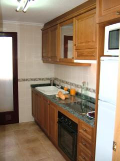 Fully equipped kitchen & separate utility area
