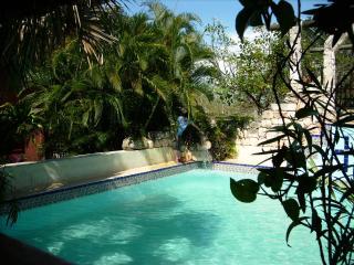 Casa Maya inmitten von Yucatan