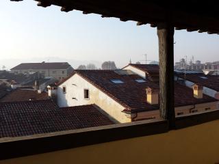 la vista sui tetti di vicenza