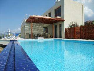 Sea Cliff villa, Free WiFi, UK TV, AC / heating, own private pool, sleeps 2-8
