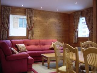 living area; comfortable with settee-bed