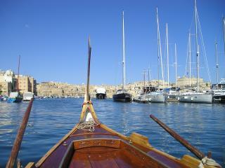 Modern Vittoriosa seaview, Isola di Malta