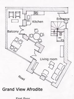 Floor plan 1st floor