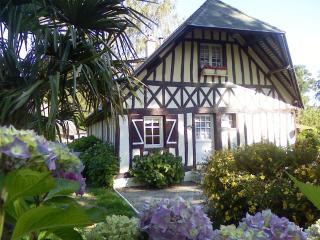 maison fleurie  près mer, Hautot-l'Auvray