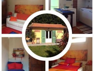 casina e giardino per  mare e citta d'arte toscane