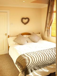 The cosy bedroom