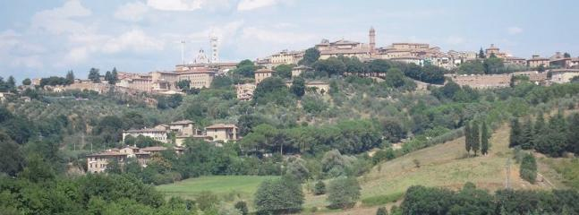 The View Toward Siena