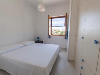 Comfortable double bedroom with air conditioning