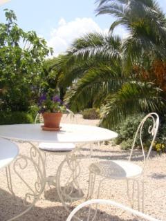 Impression of the garden - guesthouse Aux Merveilleux in Grimaud - Côte d' Azur