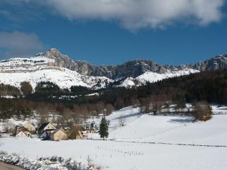 studio with a view in the centre of Villard