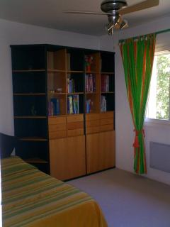 One of the kids bedrooms