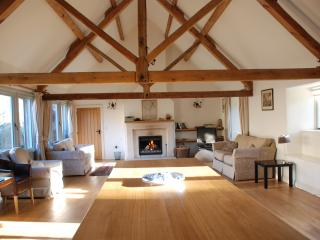 `Wow` is the usual reaction to this huge but cosy sitting room, ideal for large gatherings
