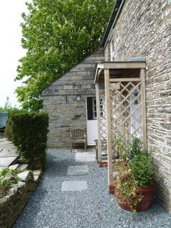 Entrance to Penweir Cottage