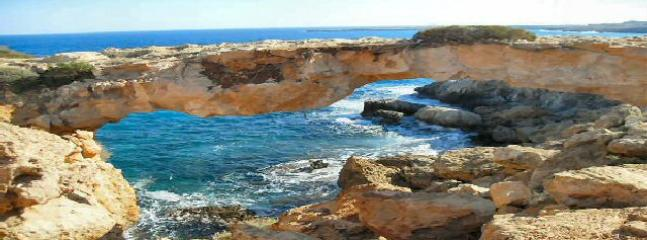 Natural Bridge at Cape Greco