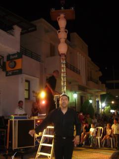 Cyprus Night in Pissouri Village Square