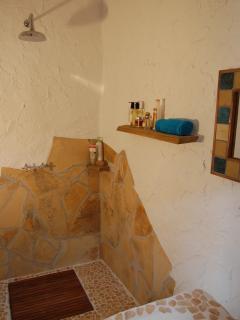 Unique shower room