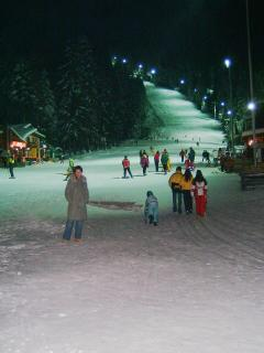 Night skiing in Borovets - 3 minutes walk from Chalet