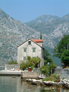 The beautiful Bay of Kotor is a world heritage site