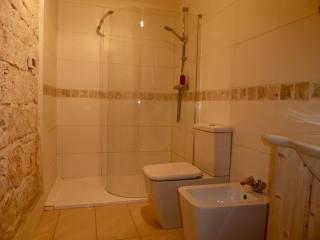 Bathroom to Bedroom 1 Walk in Shower, Vanity Basin, Bidet, WC