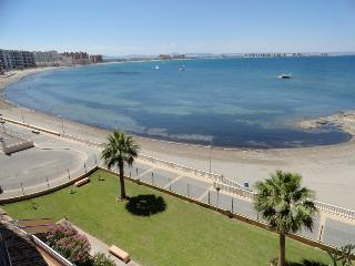 Puerto Escondido, beach front La Manga Vacations, La Manga del Mar Menor