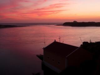 Sun going down over Vila Nova va Milfontes