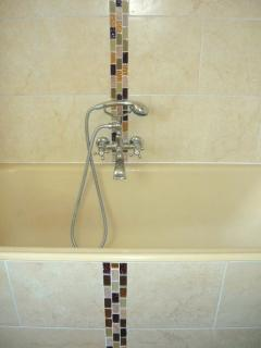 Full size bath for luxurious bubble baths