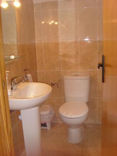 Additional downstairs cloakroom