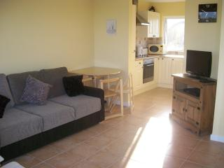 Sunny Lounge/Kitchen with underfloor heating