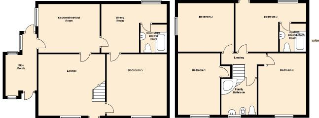 Bodlondeb Floorplan