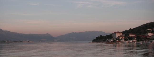 From Trogir towards Split ( evening calm )