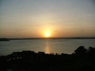 View of sunset from Villa Baumontia