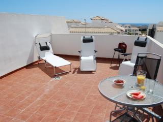 The rooftop sun terrace