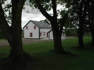 Large garden at Willow Farmhouse Holiday House Co Donegal