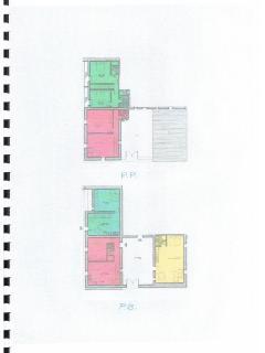 Floor plan of apartments. MFP1 ground floor, MFP2 & 3 first floor