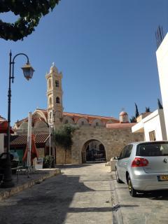 church at the beautiful village of pervolia