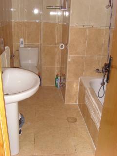 Modern family bathroom