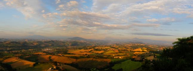 Towards the Sibillini Mountains