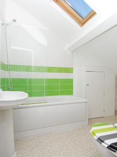 Second floor two bedroom apartment bathroom
