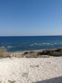 the near by beach